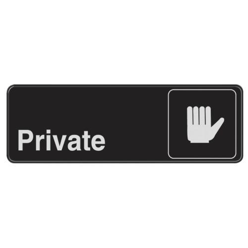 Private Sign 3