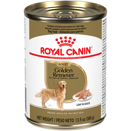 Golden Retriever Adult Loaf in Sauce Canned Dog Food