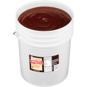 OPEN PIT Hickory BBQ Sauce, 5 gal. Pail image