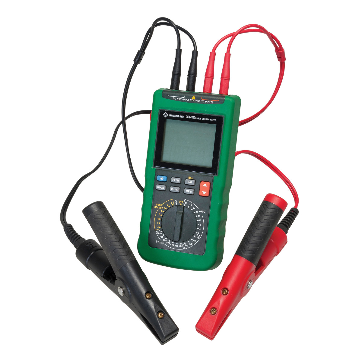 Greenlee CLM-1000 Cable Length Meter for AWG/KCMIL Wire and Cable