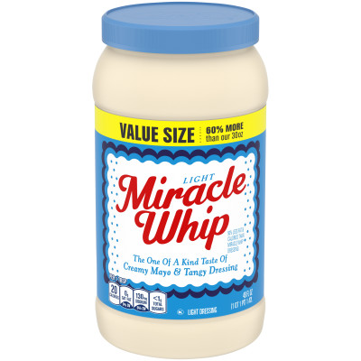 Miracle Whip Light Dressing 48 fl oz Jar