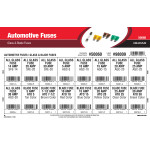 Automotive Fuses Assortment (Glass & Blade Fuses)
