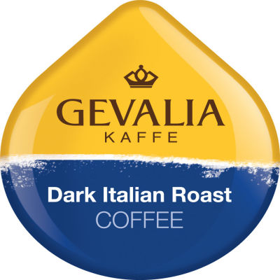 Gevalia Dark Italian Roast Coffee T-Disc for Tassimo Brewing System, 12 Count