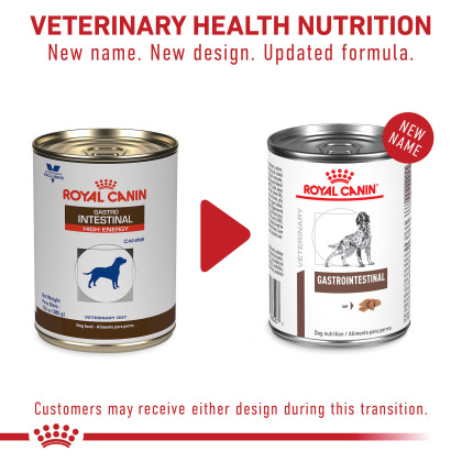Royal Canin Veterinary Diet Canine Gastrointestinal Loaf Canned Dog Food