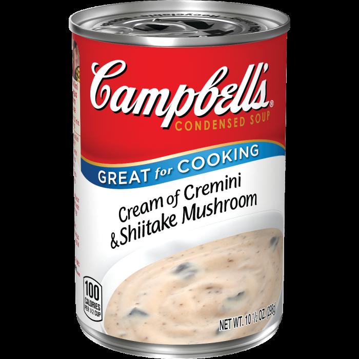 Cream of Cremini & Shiitake Mushroom Soup