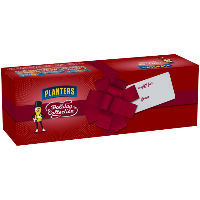 PLANTERS Holiday Trio Pack - Cocktail Peanuts, Honey Roasted Peanuts, & Sweet N' Crunchy Peanuts 34 oz Carton (3 Pack)