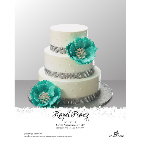 Royal Peony Wedding The Magic of Cakes® Page