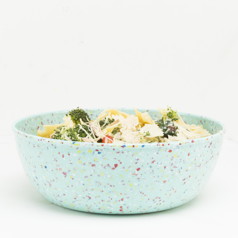 Confetti 3 quart Serving Bowl, Mint slideshow image 3