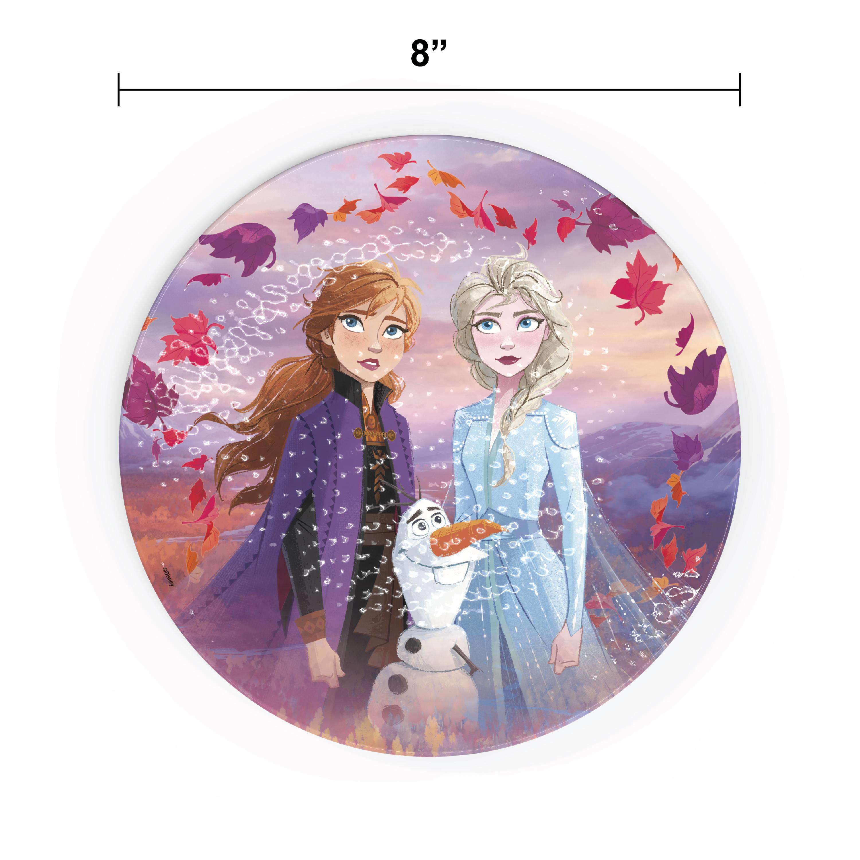 Disney Frozen 2 Movie Kids Plate and Bowl Set, Anna, Elsa & Olaf, 4-piece set slideshow image 6