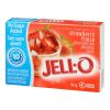 Jell-O Strawberry Jelly Powder Light, Gelatin Mix