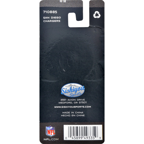 NFL Los Angeles Chargers Key Chain