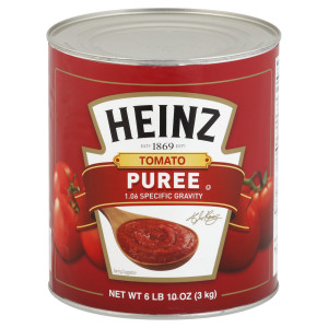 HEINZ Tomato Puree, 106 oz. Can (Pack of 6) image