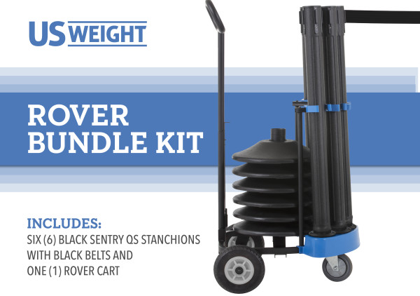 Rover Cart Bundle - Sentry QS with Black Belts 2