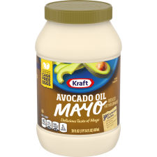 Kraft Avocado Oil Reduced fat Mayonnaise 30 fl oz Jar