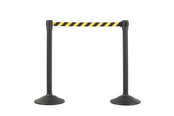 Sentry Stanchion - Black with CYB belt 1