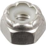 Stainless Steel Nylon Insert SAE Fine Stop Nut