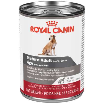 Royal Canin Canine Health Nutrition Mature Adult Loaf Canned Dog Food