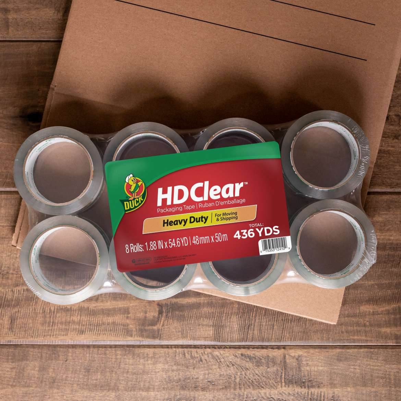 HD Clear™ Heavy Duty Packing Tape