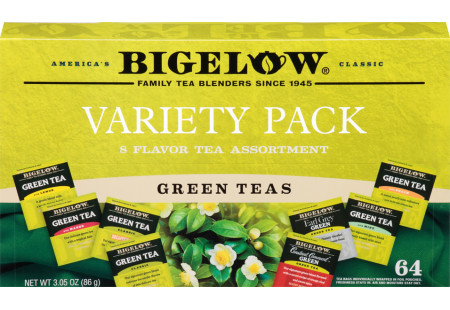 Front facing Green Tea Variety Gift Pack closed