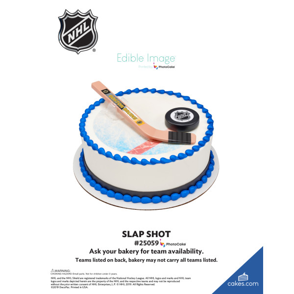NHL® Slap Shot DecoSet® The Magic of Cakes® Page