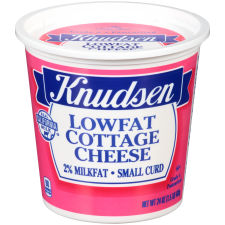 Knudsen Small Curd 2% MilkFat Low Fat Cottage Cheese 24 oz Tub