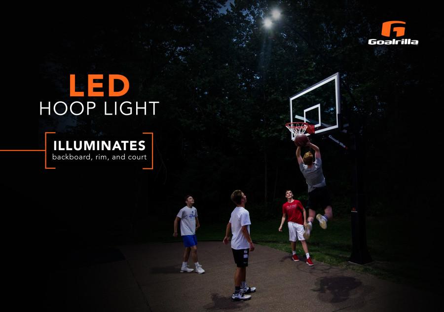 LED Basketball Hoop Light