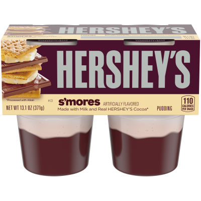 Hershey's S'Mores Pudding, 4 count Sleeve
