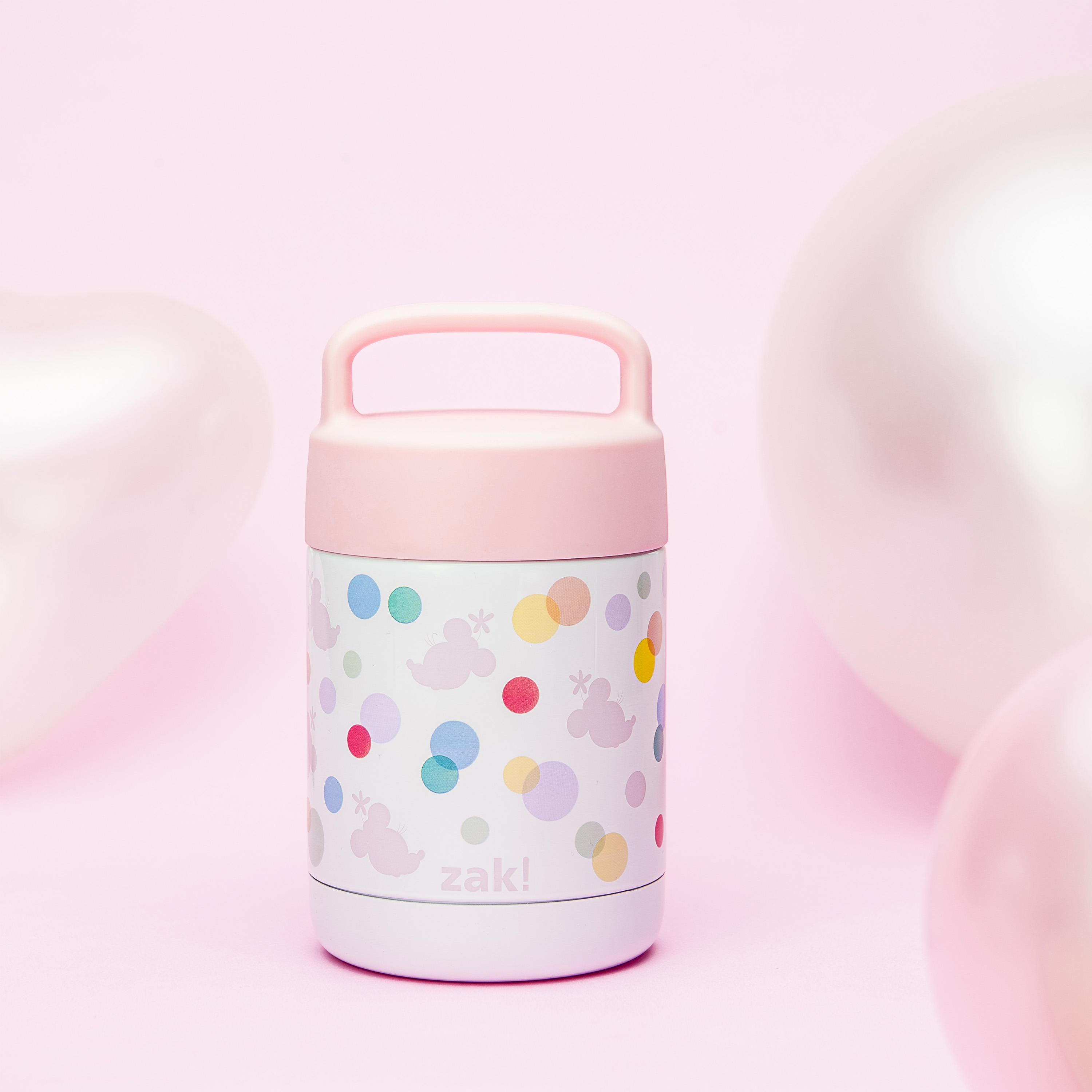 Disney Reusable Vacuum Insulated Stainless Steel Food Container, Minnie Mouse slideshow image 8