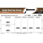 """Socket-Head Cap Screws Assortment (5/8""""-11 Thread)"""