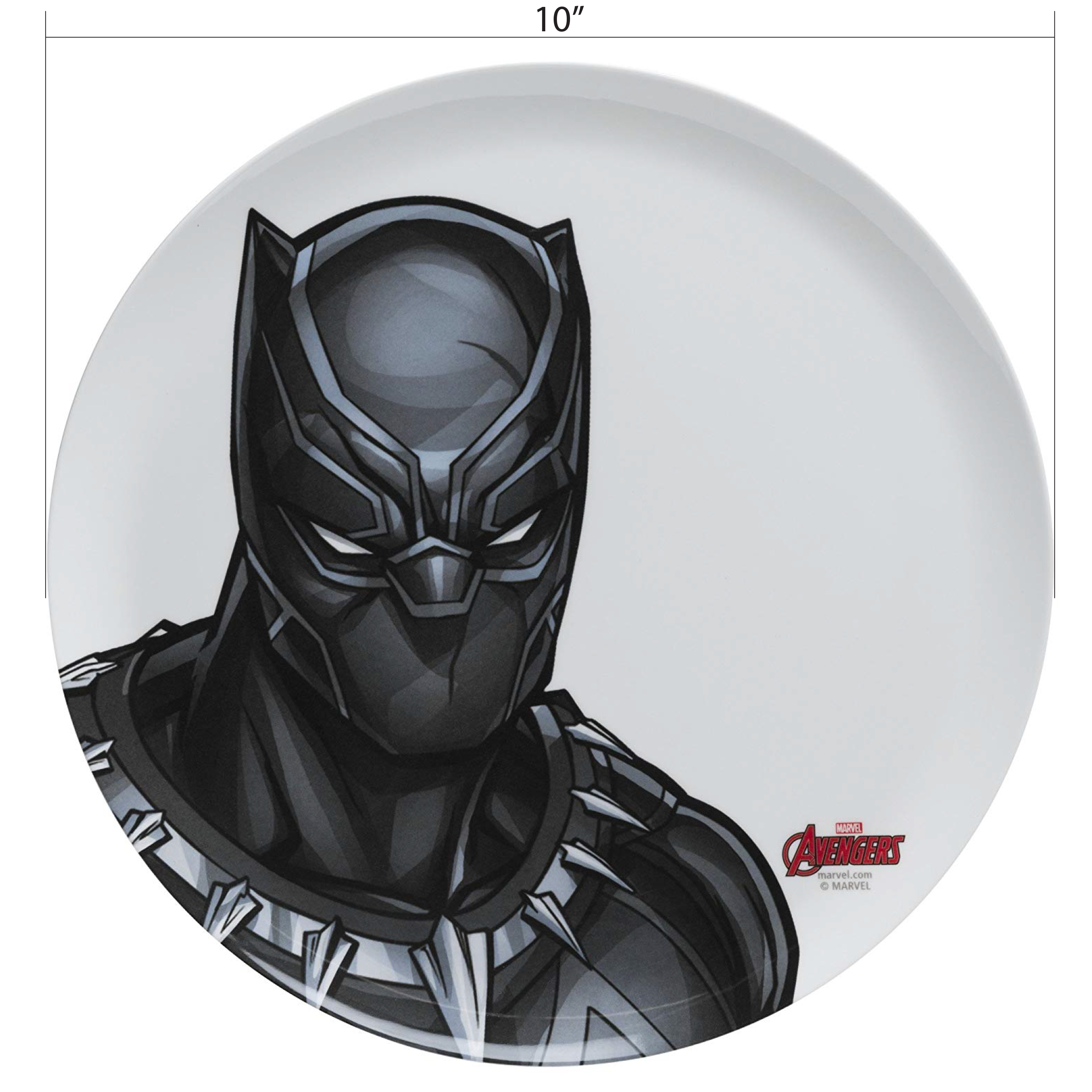 Marvel Comics Dinnerware Set, Black Panther & The Avengers, 2-piece set slideshow image 8