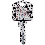 Disney 101 Dalmatians Key Blank