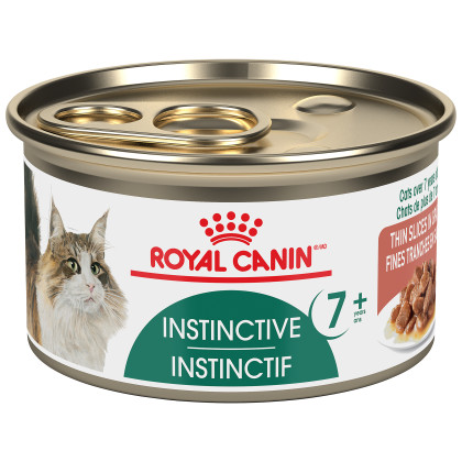 Royal Canin Feline Health Nutrition Instinctive 7+ Thin Slices In Gravy Canned Cat Food