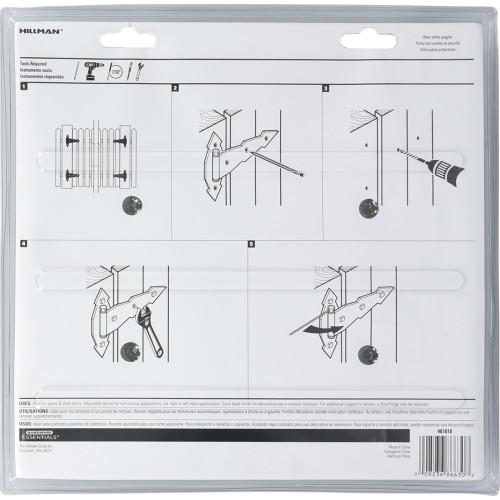 Hardware Essentials Ornamental Spring T-Hinge