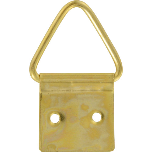 OOK Small Brass Triangle Ring Hanger