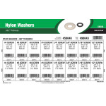 "Nylon Washers Assortment (.062"" Thickness)"