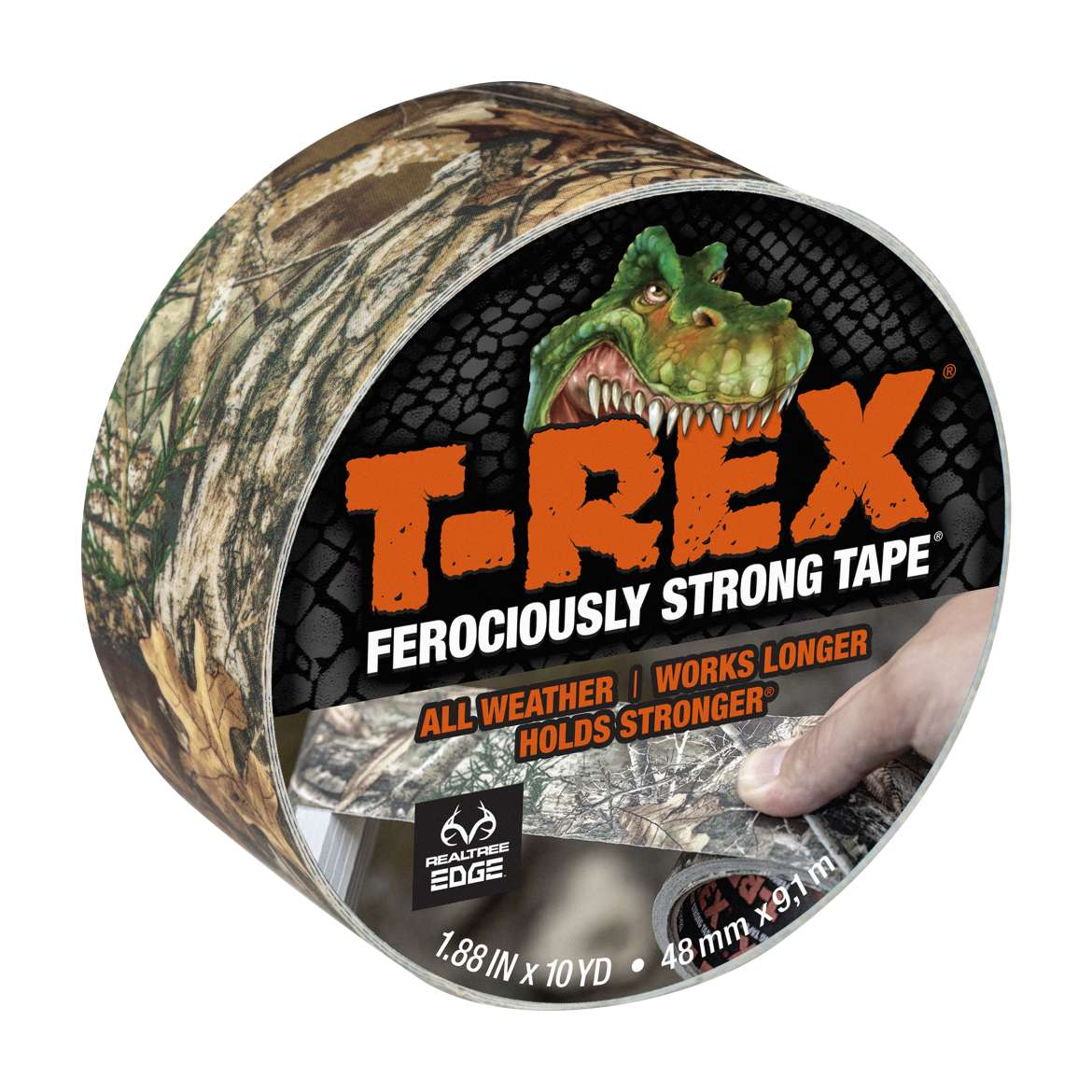 T-Rex® Tape Camo Realtree® Edge 1.88 in. x 10 yd.