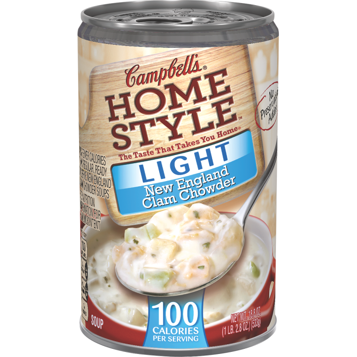 Light New England Clam Chowder