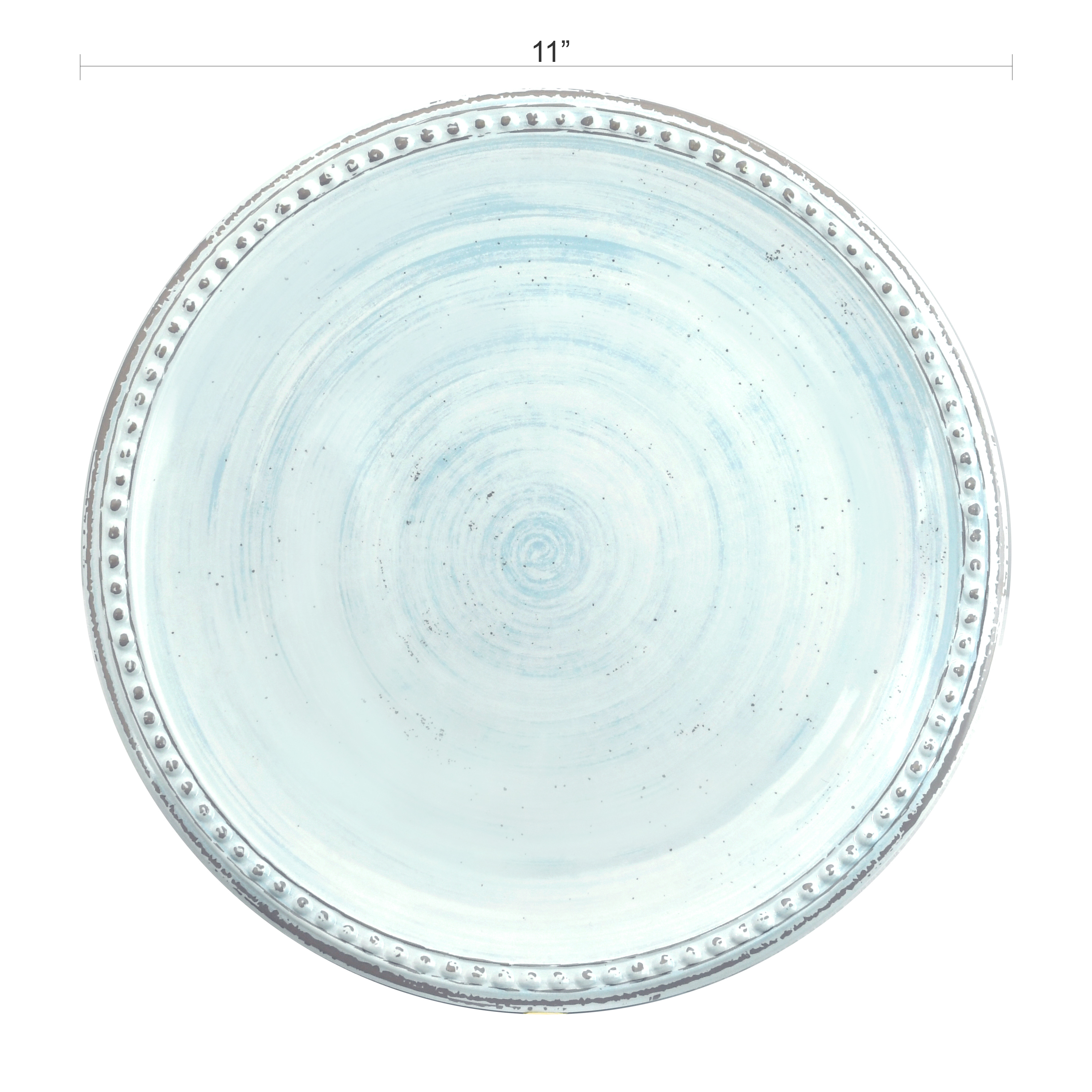 French Country Plate & Bowl Sets, Blue, 12-piece set slideshow image 6