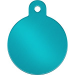 Turquoise Large Circle Quick-Tag