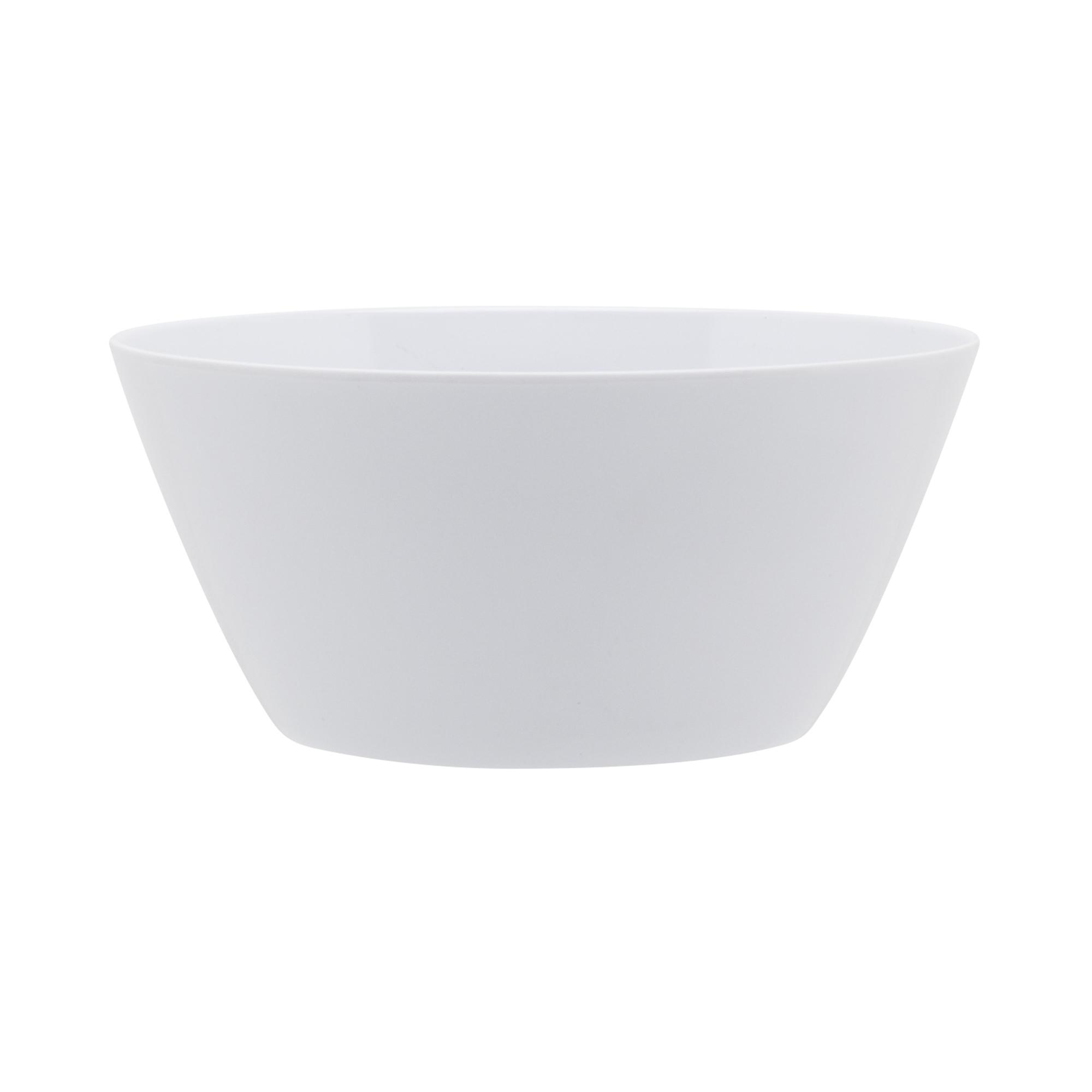 Just life 27 ounce Soup Bowl, Eggshell White slideshow image 1