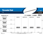 Threaded Rod Assortment (#8-32 Thread Size)