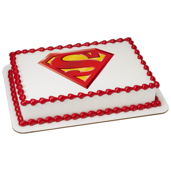 Superman™ Power Up PhotoCake® Edible Image®