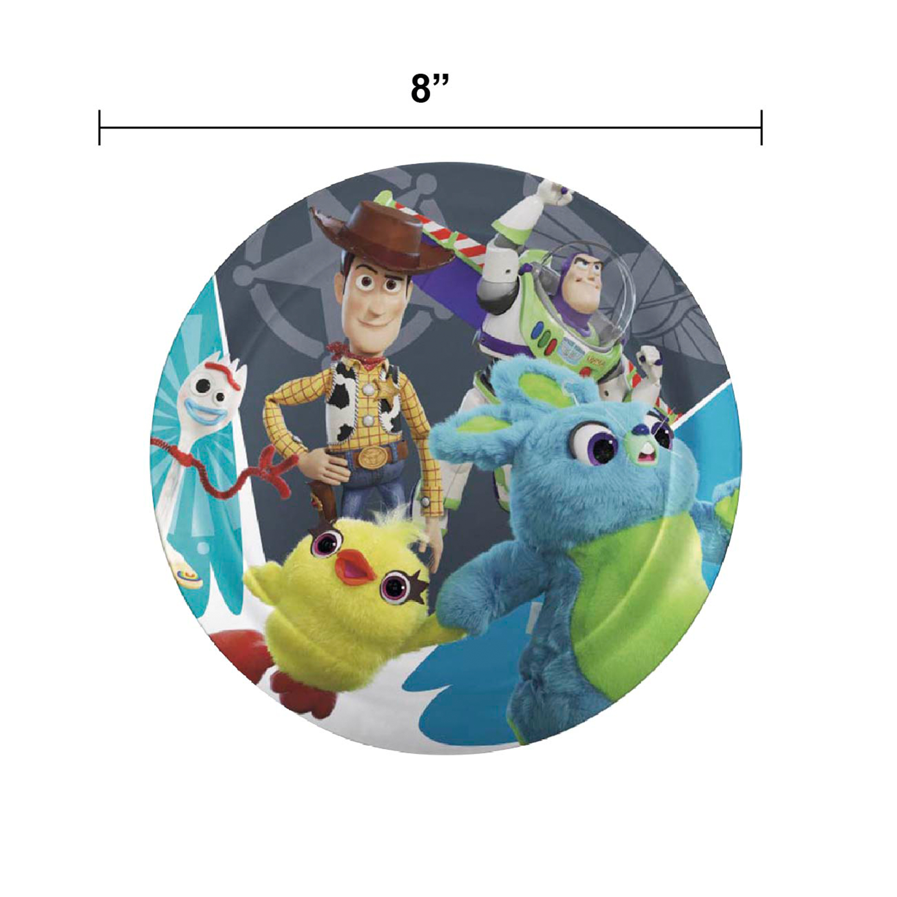 Disney Pixar Dinnerware Set, Woody, Buzz and Friends, 5-piece set slideshow image 5