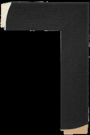 Flax Liner Black 2 1/2