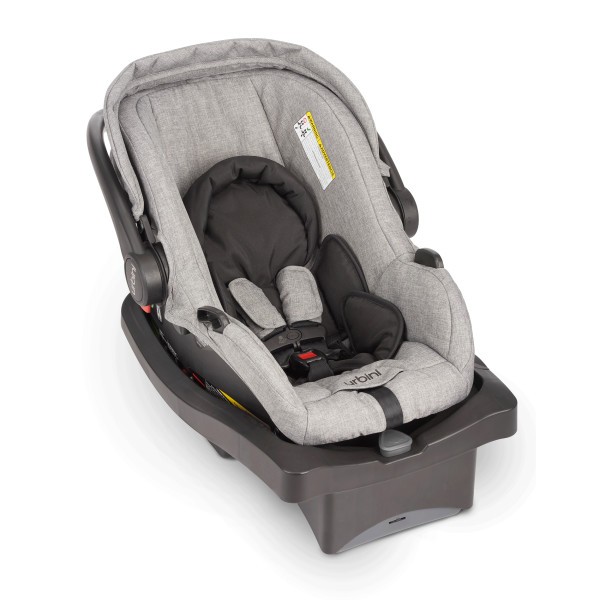 Rear-facing only, for newborns 4-35 lbs. up to 32