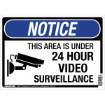 "Under Surveillance Sign (10"" x 14"")"