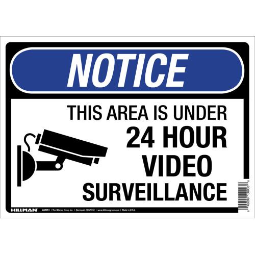 Under Surveillance Sign (10