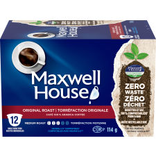 Maxwell House Original Roast 12 ct Single Serve Coffee Pods