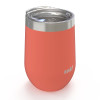 Palisades 11.5 ounce Vacuum Insulated Stainless Steel Tumbler, Peach, 3-piece set slideshow image 2