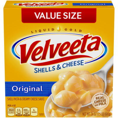 Kraft Velveeta Original Shells & Cheese 24 oz Box